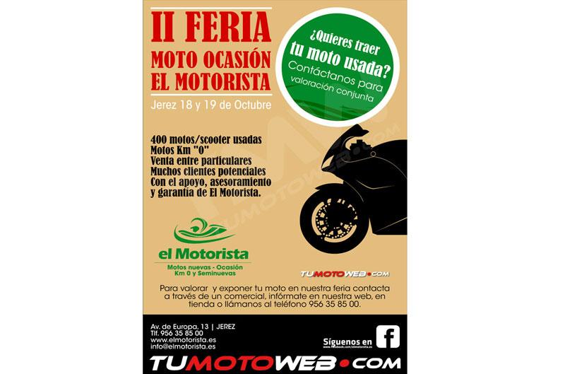 II Feria Moto Ocasión El Motorista