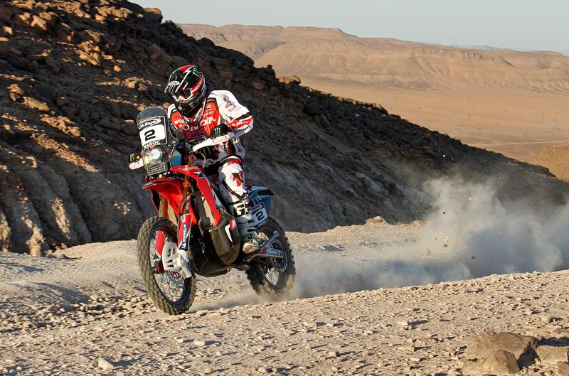 Paulo Gonçalves, nuevo líder del Rally de Marruecos
