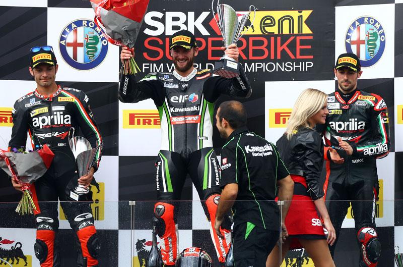 Jerez coronará al campeón de SBK