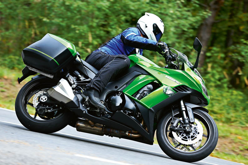 Kawasaki Z1000SX 2014. Prueba