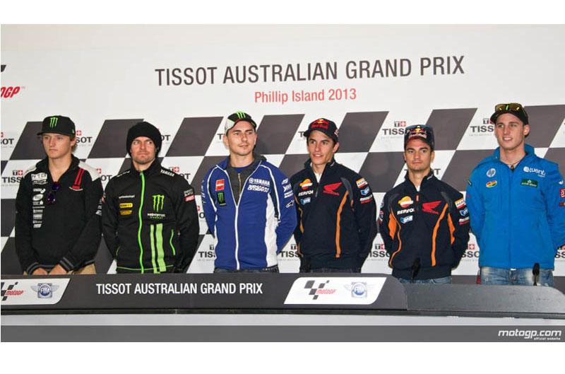 Declaraciones de los pilotos de MotoGP antes del GP de Philip Island