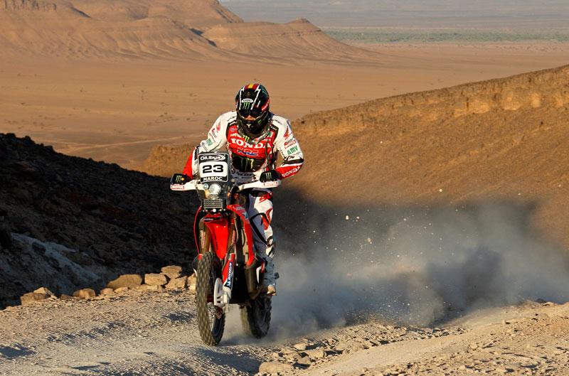 Joan Barreda recupera el liderato del Rally de Marruecos