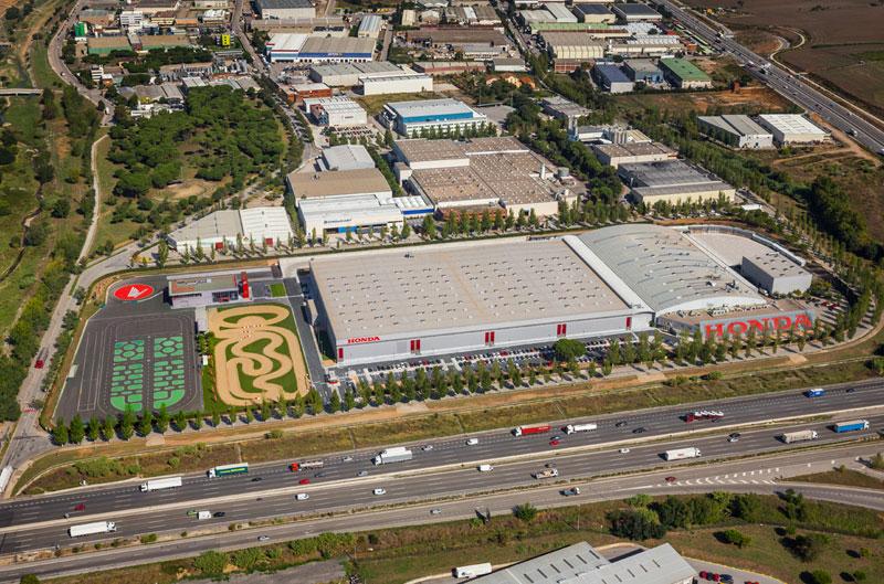 Honda inaugura su nuevo centro logístico