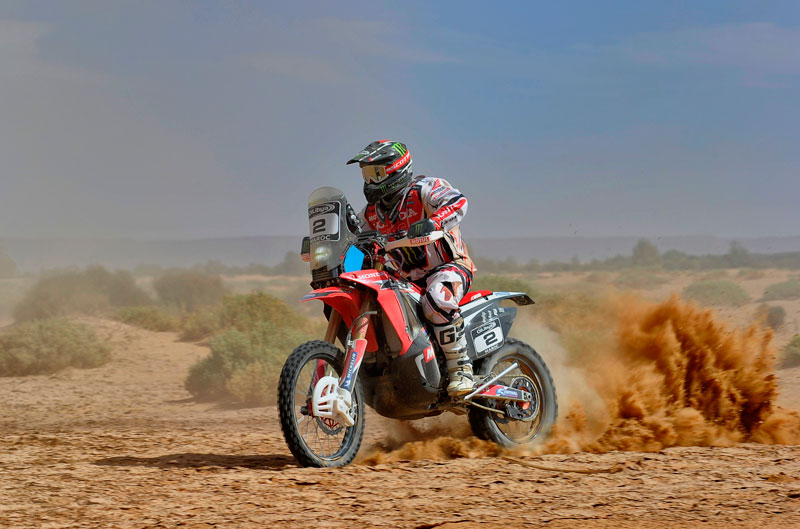 Paulo Gonçalves gana la cuarta etapa del Rally de Marruecos
