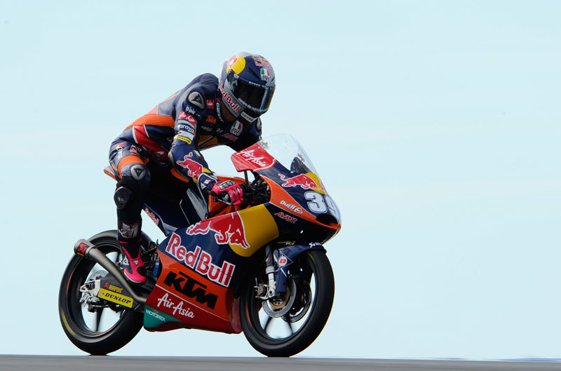 Luis Salom, mejor tiempo de Moto3 en Australia