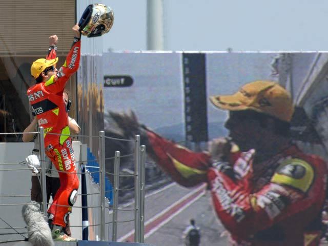 GP de Cataluña. Carrera de 250 cc