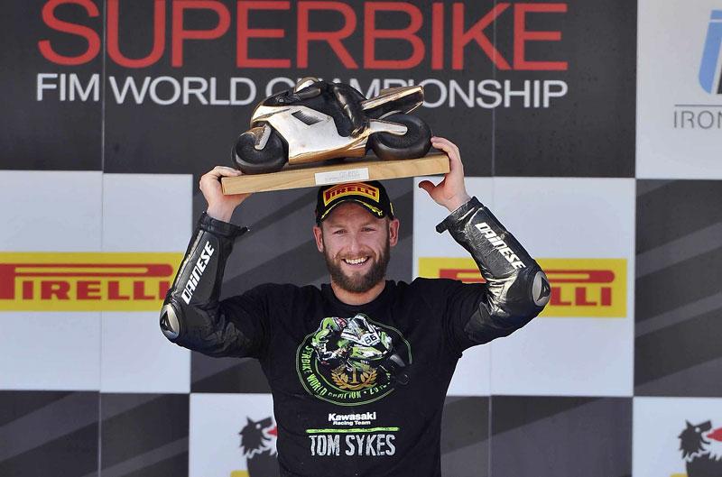 Tom Sykes campeón del mundo de SBK