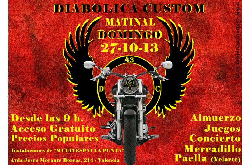 II Matinal Diabólica Custom 2013