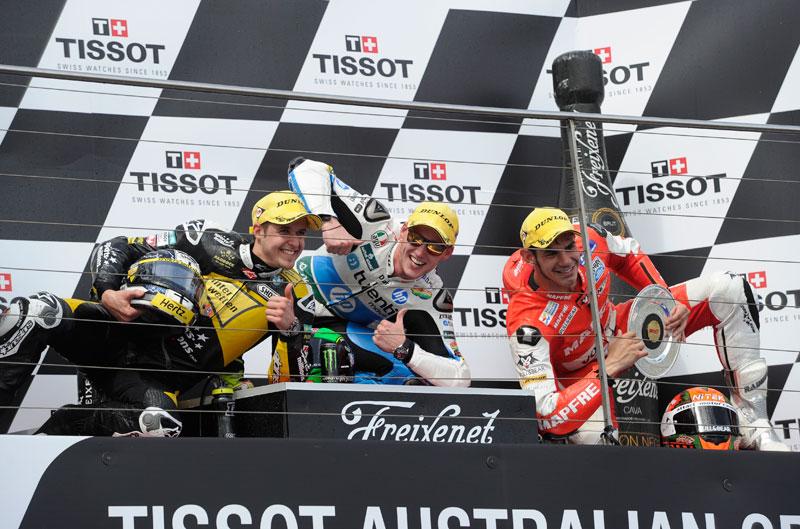Declaraciones de los pilotos de Moto2 y Moto3 tras el GP de Phillip Island