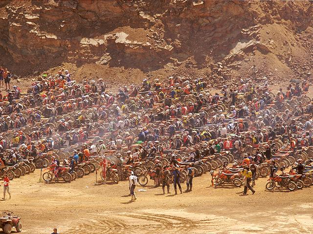 Blazusiak gana el Rodeo-X Endurocross