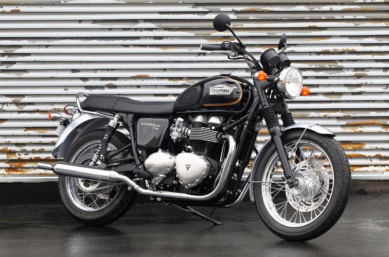 Triumph Bonneville T100 Especial Edition 2014