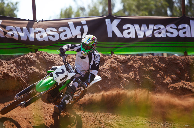 Gama Kawasaki motocross 2014