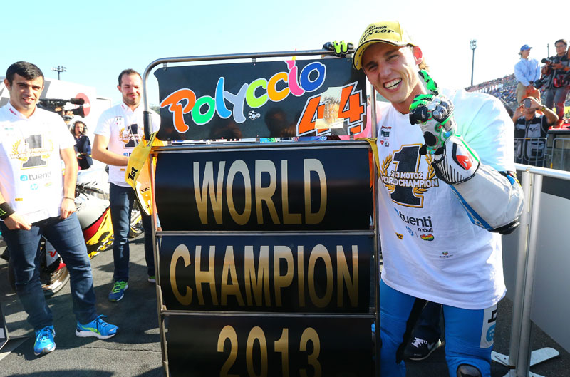 Pol Espargaró consigue el Mundial de Moto2