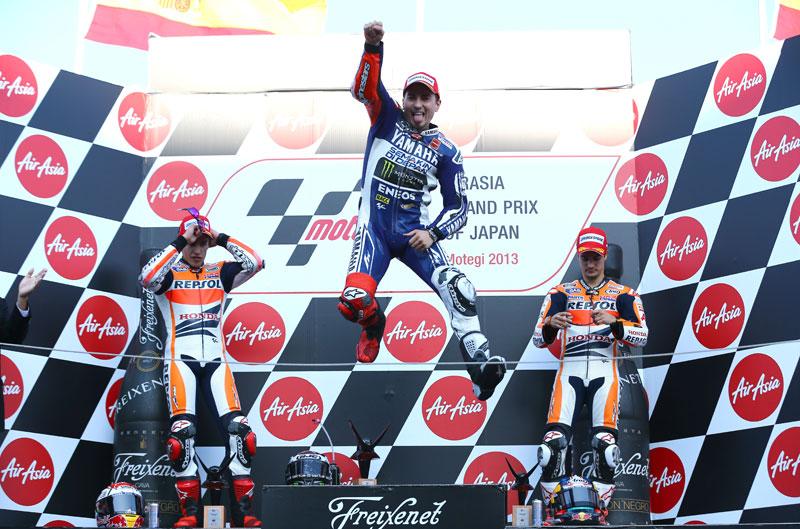 Jorge Lorenzo gana el GP de Japón