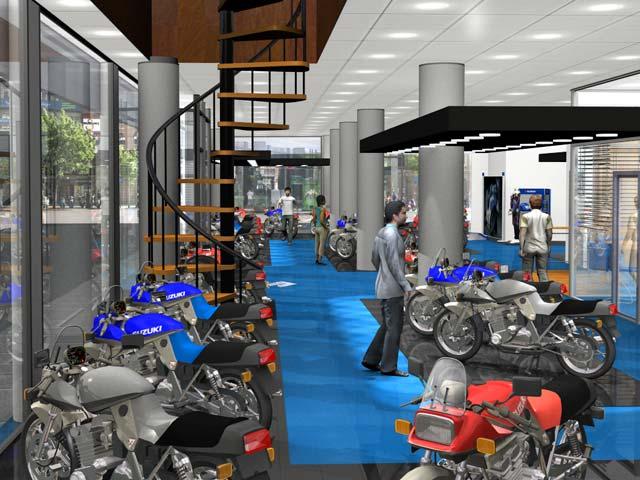 Suzuki renueva sus concesionarios