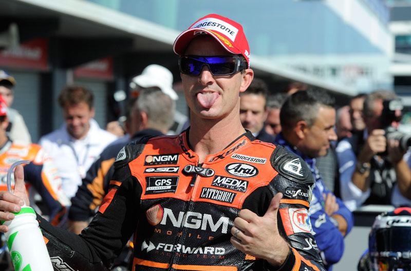 Colin Edwards seguirá con Forward Racing