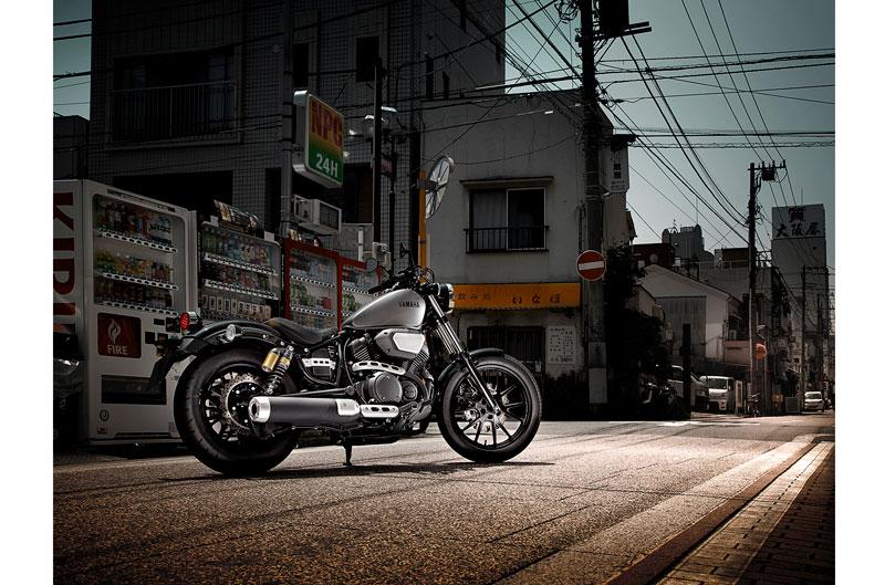 Yamaha XV950. Prueba