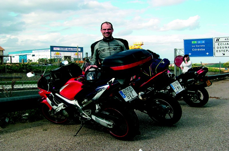 Objetivo 100.000. Honda CBR 600F