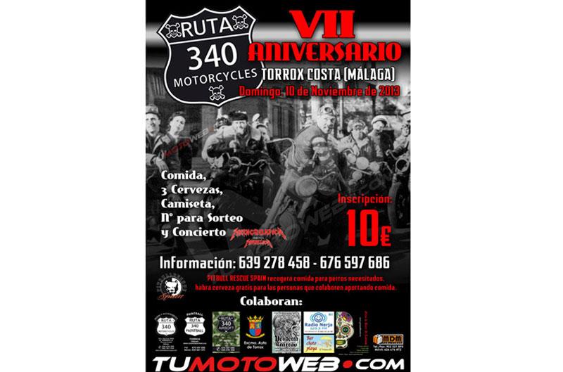 VII Aniversario Ruta 340 Motorcycles