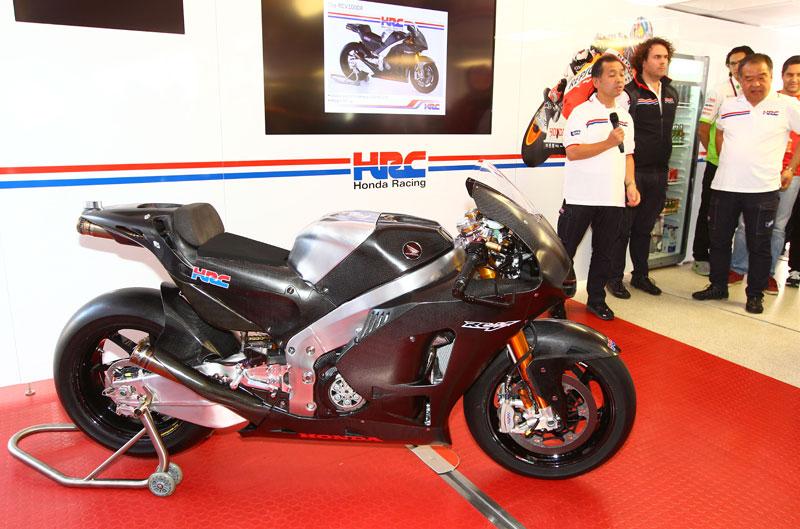 Honda RCV1000R carreras-cliente