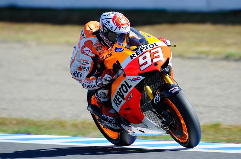 Márquez le gana la partida a Lorenzo en el FP1 de MotoGP