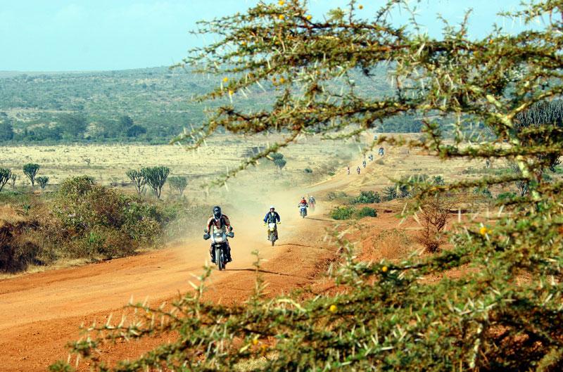 Viaje en moto por Kenia
