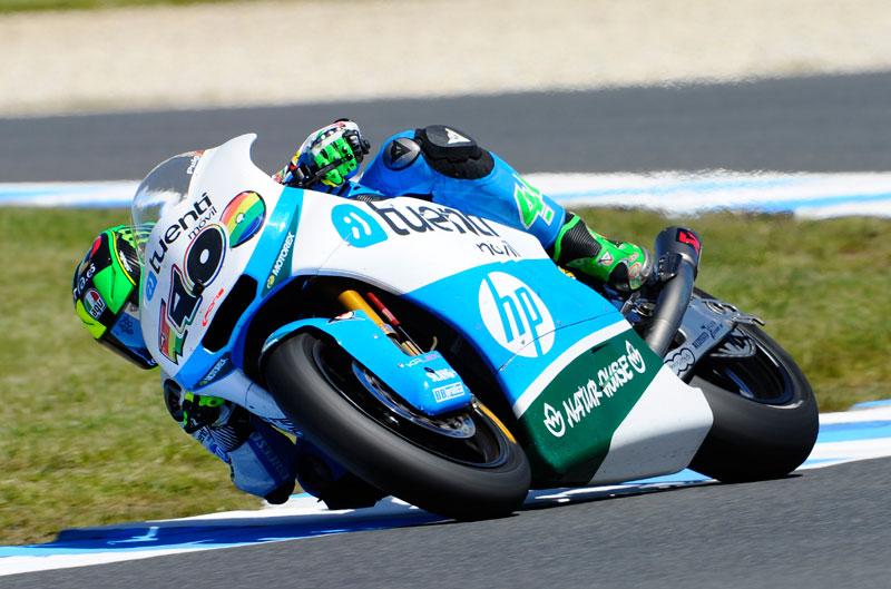 Pol Espargaró impone su ley en el FP2 de Moto2