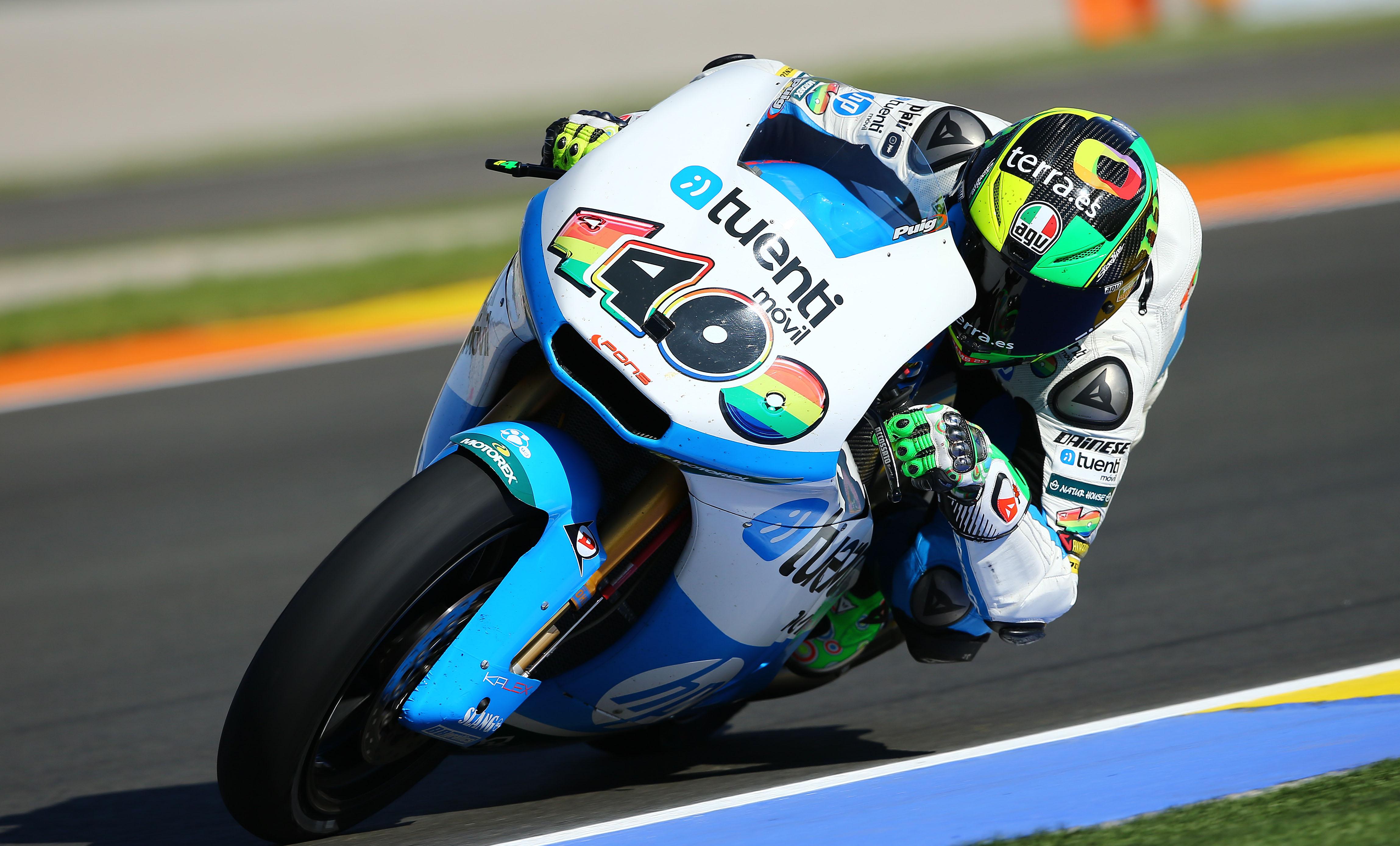 Pol Espargaró marca la pauta en la tercera sesión de Moto2