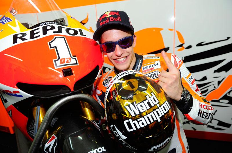 Especial Márquez campeón de MotoGP y Salón de Milán