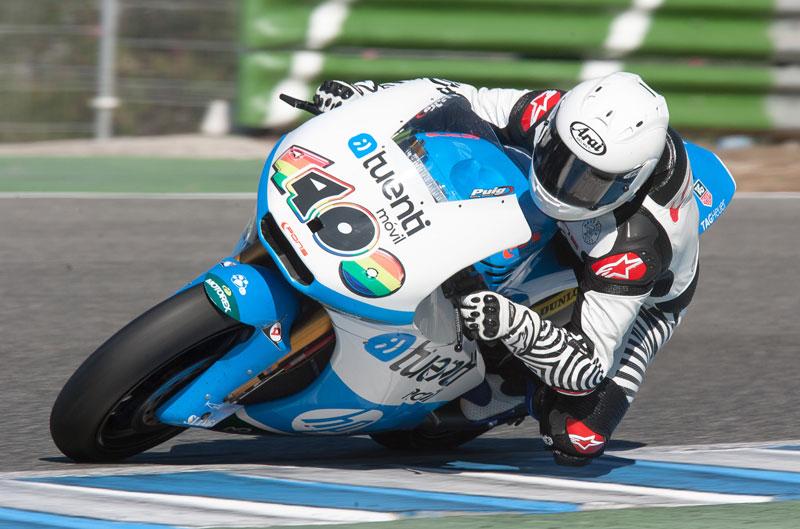 Maverick Viñales y Luis Salom debutan en Moto2