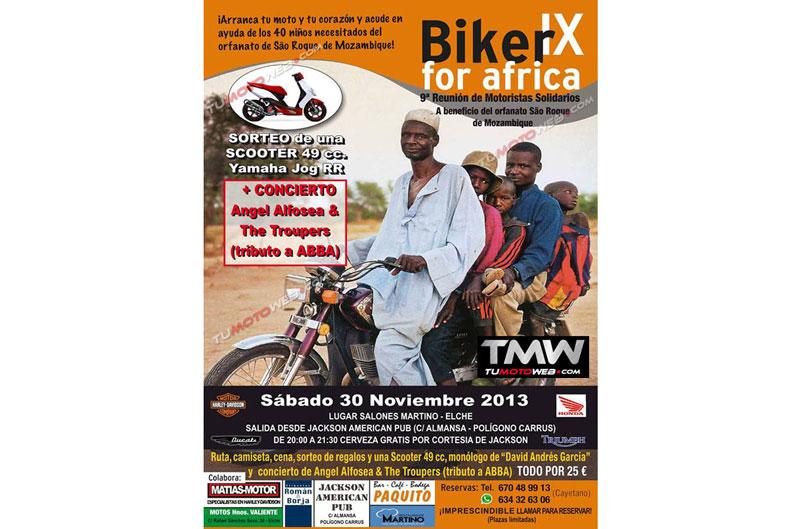 IX Reunión Motera Solidaria Bikers for Africa