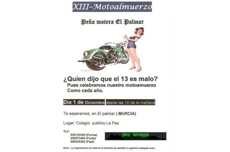 XIII Motoalmuerzo El Palmar