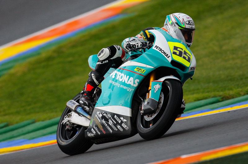 Syahrin gana en Moto2 y el título se decidirá en Jerez