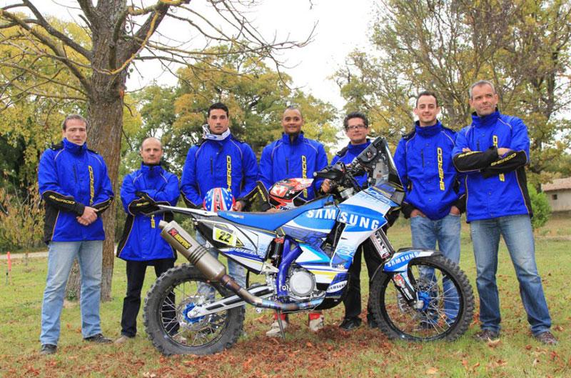 Joan Pedrero correrá el Dakar con Sherco