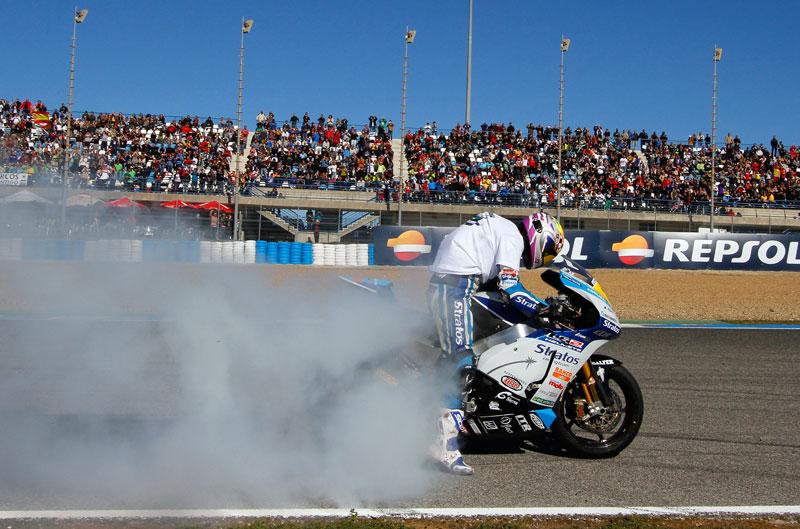 Román Ramos campeón del CEV de Moto2