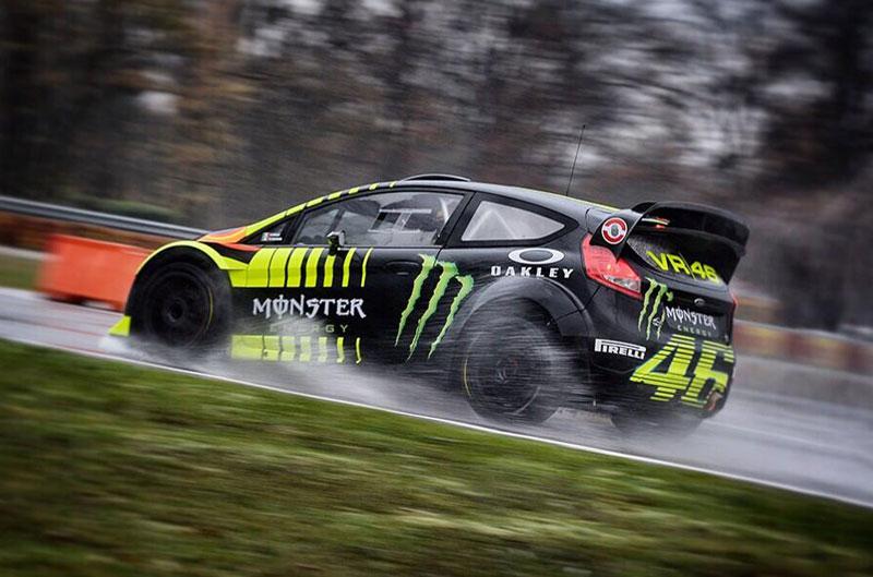 Rossi finaliza segundo en el Rally de Monza