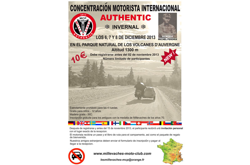 Concentración mototurística internacional authentic