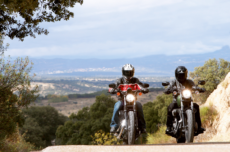 Comparativa Harley-Davidson Sportster Iron - Yamaha Bolt