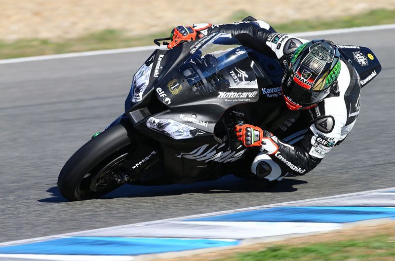 Tom Sykes, el más rápido en la primera jornada de pruebas en Jerez