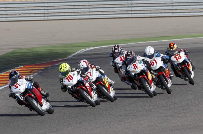 Marc Alcoba se proclama campeón de la Copa Honda CBR250R