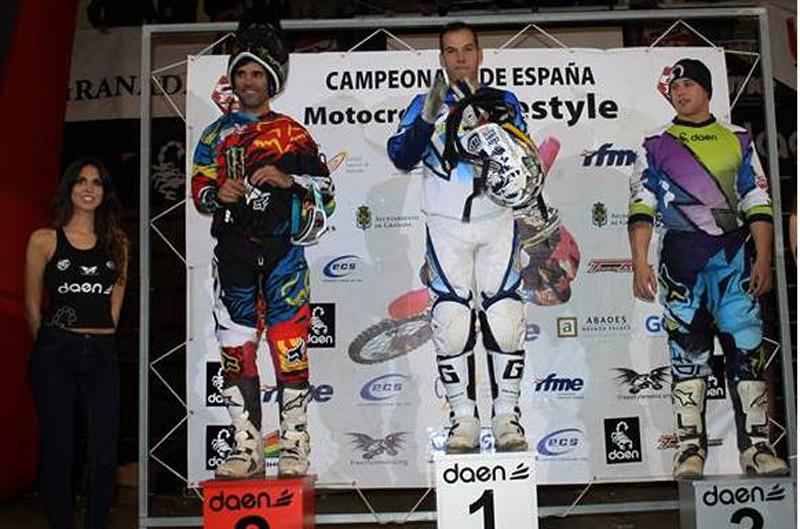 Pedro Moreno campeón de España de Freestyle