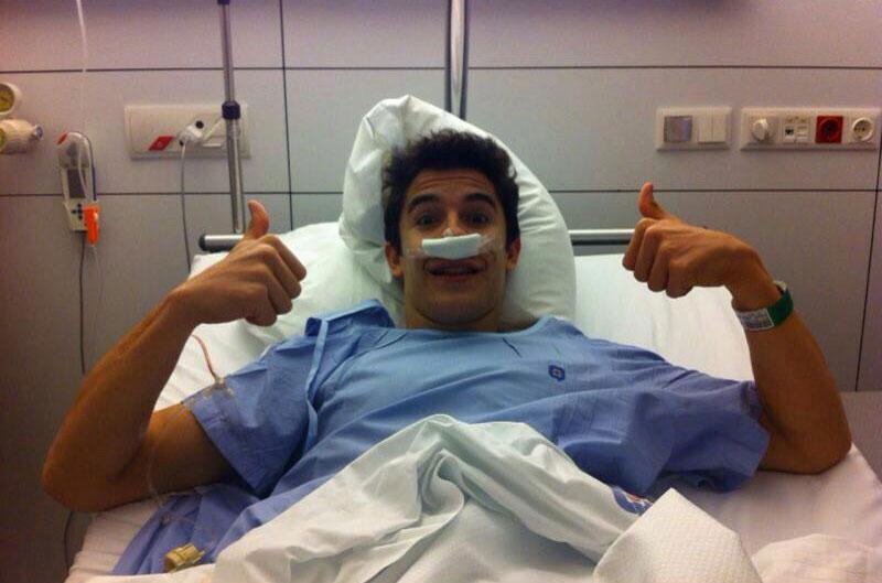 Marc Márquez se opera para mejorar su respiración