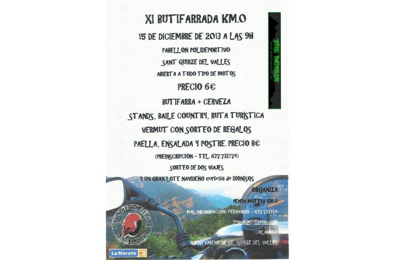 XI Butifarrada Km. 0