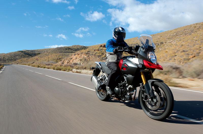 Suzuki V-Strom 1000 ABS y entrevista a Freddie Spencer