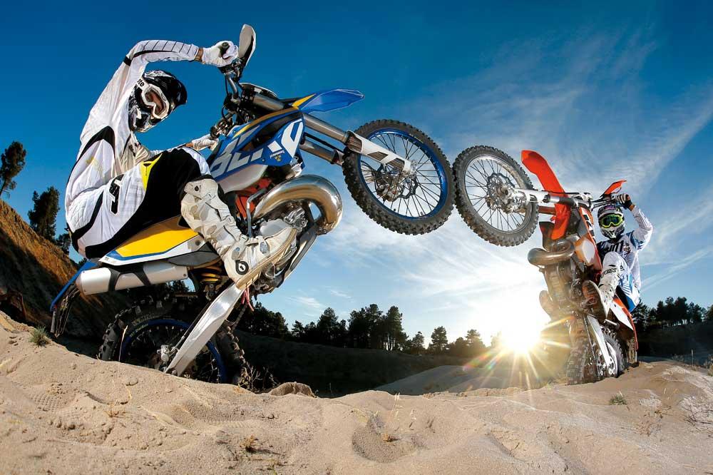 Comparativa Husaberg TE 300 y KTM 300 EXC