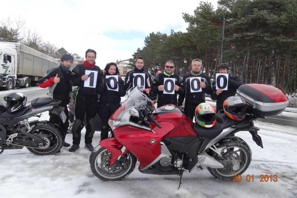 Objetivo 100.000: Honda VFR 1200F