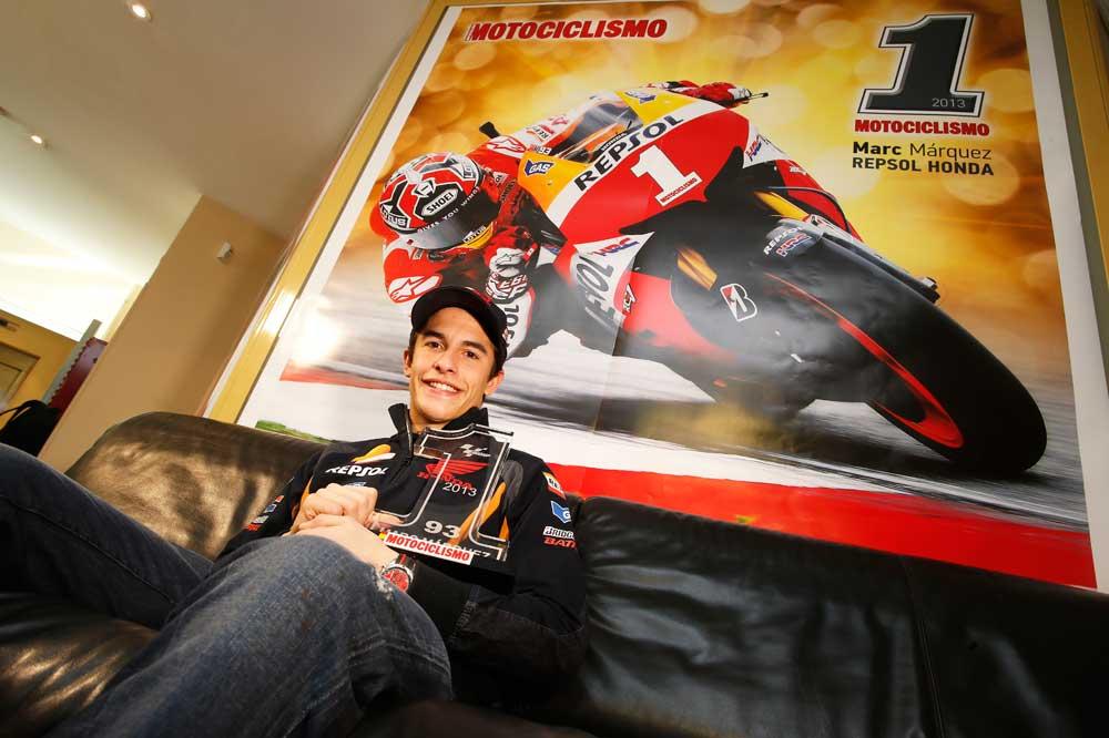 Marc Márquez, Número 1 de Motociclismo