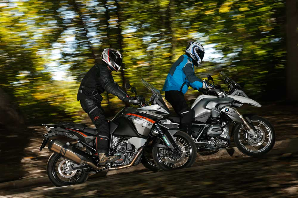 Comparativa BMW R 1200GS y KTM 1190 Adventure
