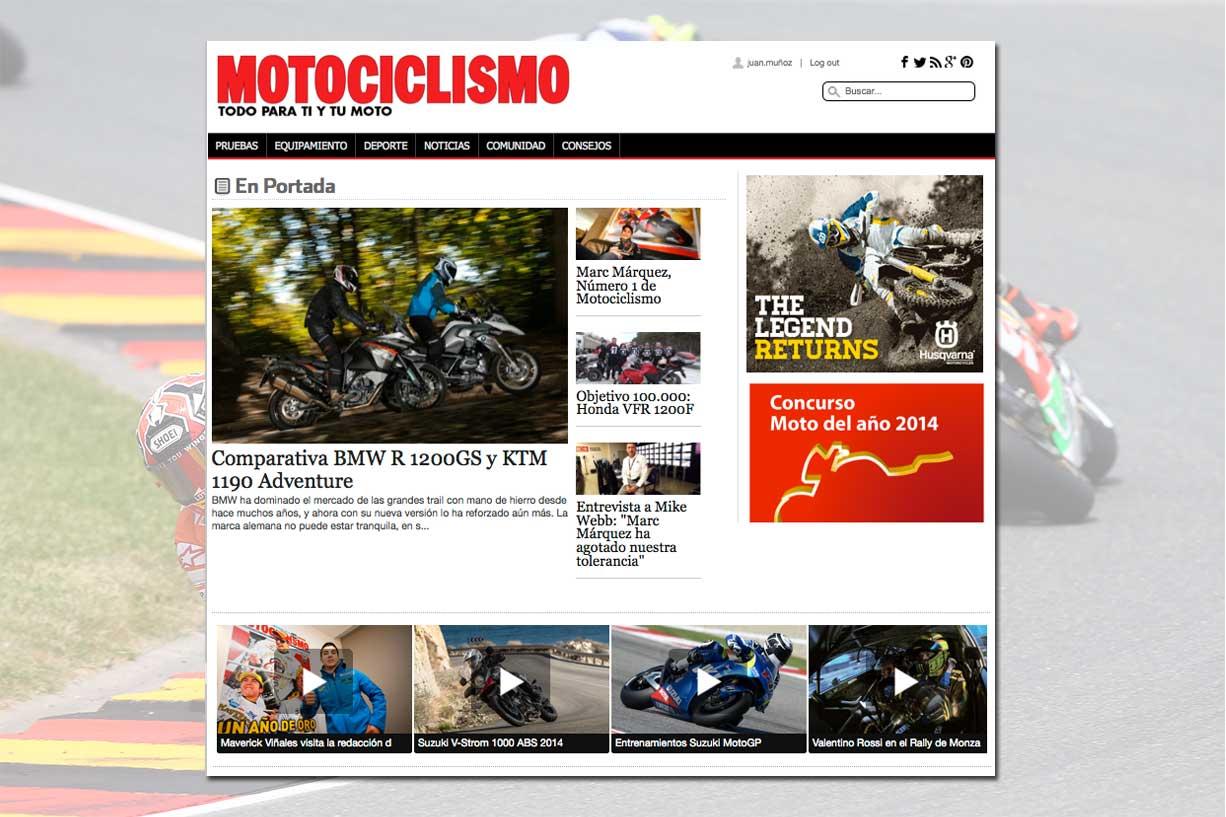 Nueva web de Motociclismo