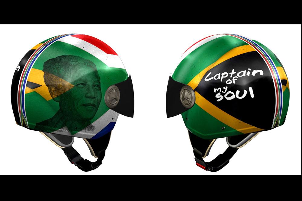 """""""Captain of my soul"""" 3D VINTAGE II, nuevo NZI en homenaje a Nelson Mandela"""